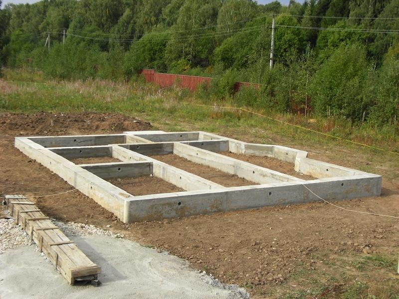 Расчет арматура столбчатый фундамент в Подольске
